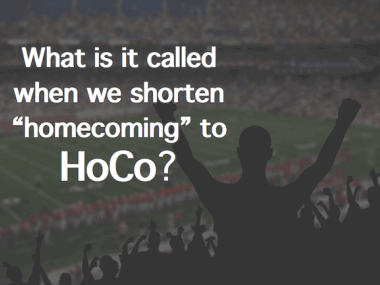 Why HoCo Means Homecoming