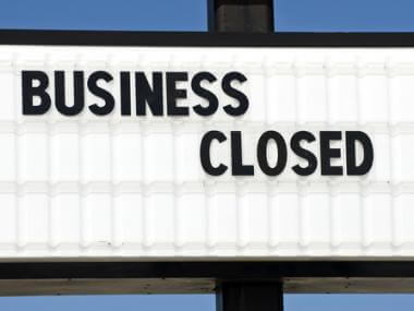 when should you shut down a business?