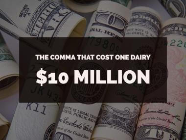 The $10 Million Comma